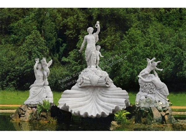 Hand Carved Stone Fountains